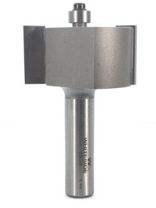 "Whiteside Rabbet Router Bit 1-7/8"" Large Diameter 3/4"" Cutting Diameter 1"" Cut Length 2 Flute 1/2"" Shank"