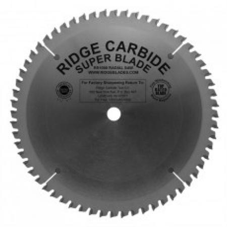 "Ridge Carbide 7-1/4"" RS1000 60T Circular Saw Blade 5/8"" Bore"