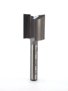 "Whiteside Straight Router Bit 11/16"" Cutting Diameter 3/4"" Cut Length 1/4"" Shank 2 Flute"