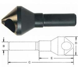 Norseman 82 Degree Pilotless Countersink #6 Screw