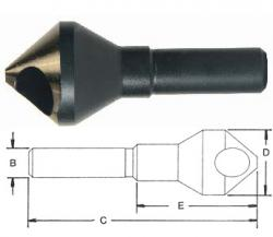 Norseman 82 Degree Pilotless Countersink #10 Screw