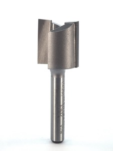 "Whiteside Mortise Router Bit 3/4"" Cutting Diameter 3/4"" Cut Length 1/4"" Shank 2 Flute"