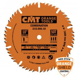 "CMT 10"" 50T Combination Saw Blade 5/8""Bore Industrial Teflon Coated"
