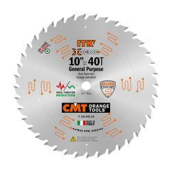 "CMT Industrial Thin Kerf General Purpose 10""x42x5/8"" Bore"