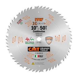 "CMT 10"" 50T Industrial Thin Kerf Combination Saw Blade 5/8"" Bore"