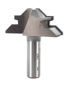 "Whiteside 45 Degree Lock Miter Router Bit Small 1/2"" Shank 2 Flute"