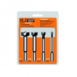 CMT Forstner Bit Set 4 Pieces