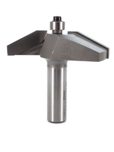 "Whiteside 25 Degree Straight Raised Panel Router Bit 2-1/2"" Large Diameter 5/8"" Cut Length 1/2"" Shank 2 Flute"
