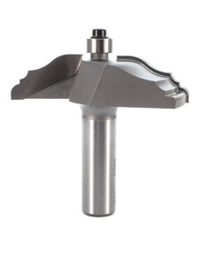 "Whiteside Classical Ogee Raised Panel Router Bit 2-1/2"" Large Diameter 5/8"" Cut Length 1/2"" Shank 2 Flute"