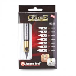 "Amana In-Groove CNC Engraving Kit 1/2"" Shank"