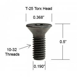 Byrd Shelix Head Carbide Insert Torx Screw