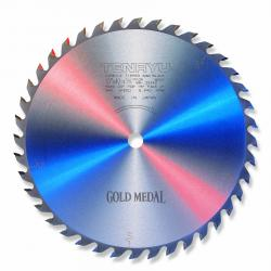 "Tenryu 10"" 40T Gold Medal .111"" Kerf General Purpose Saw Blade 5/8"" Bore"