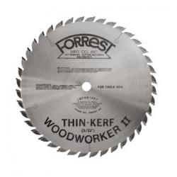 "Forrest Woodworker II 10"" 40T Thin Kerf General Purpose Saw Blade"